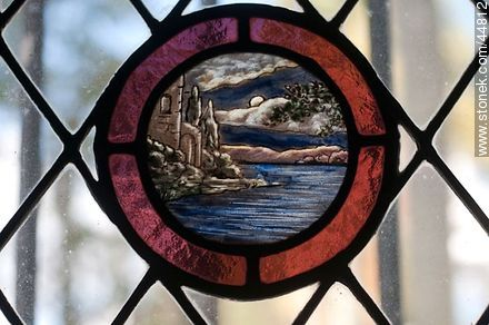 Stained Glass - Photos of San Pedro de Timote - Department of Florida - URUGUAY. Image #44812