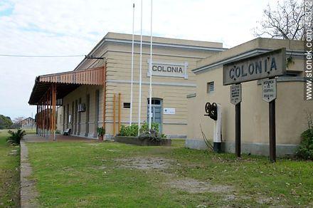 Ex train station - Photos of Colonia del Sacramento - Department of Colonia - URUGUAY. Image #45372