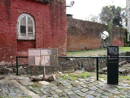 Bastión del Carmen - Photos of Colonia del Sacramento - Department of Colonia - URUGUAY. Image #45422