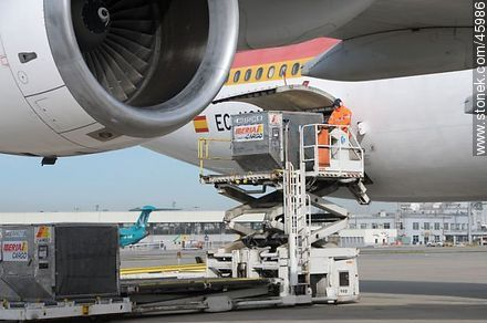 Air Cargo - Photos of the International Airport of Carrasco - Department of Canelones - URUGUAY. Image #45986