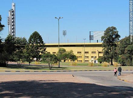 Centenario Stadium - Photos of Parque Batlle quarter - Department and city of Montevideo - URUGUAY. Image #46049