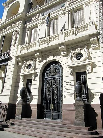 Palacio Francisco Piria. Building of the Supreme Court. - Photos of downtown - Department and city of Montevideo - URUGUAY. Image #47278