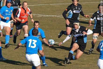 Match Uruguay - Italy June 2007 - Photos of Rugby - URUGUAY. Image #47358
