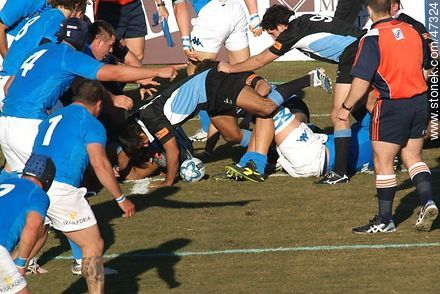Match Uruguay - Italy June 2007 - Photos of Rugby - URUGUAY. Image #47324