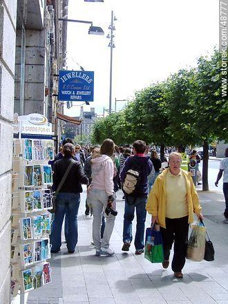 Downtown Dublín - Photos of Dublin - Ireland - BRITISH ISLANDS. Image #48777