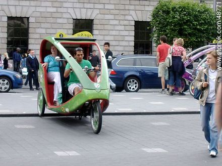 Trike tours - Photos of Dublin - Capital city, BRITISH ISLANDS. Image #48771