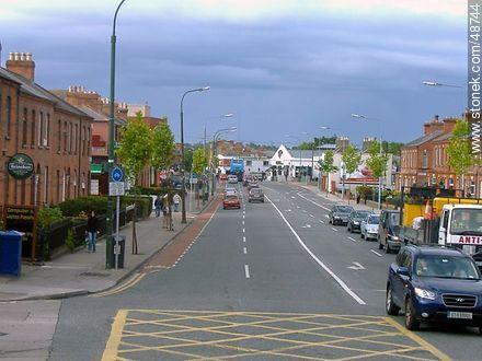 Street of Dublin - Photos of Dublin - Ireland - BRITISH ISLANDS. Image #48744