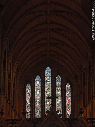 Church Stained Glass Window - Photos of Dublin - Ireland - BRITISH ISLANDS. Image #48608