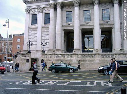City Hall of Dublin - Photos of Dublin - Ireland - BRITISH ISLANDS. Image #48601