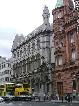 National Irish Bank - Photos of Dublin - Ireland - BRITISH ISLANDS. Image #48599
