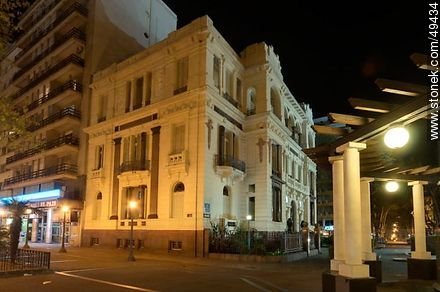 Palacio Francisco Piria. Building of the Supreme Court. - Photos of downtown - Department and city of Montevideo - URUGUAY. Image #49434