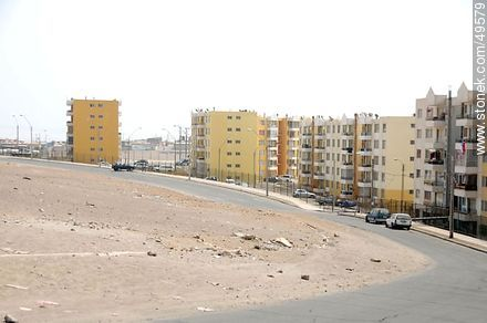 Colhueco Street.  Mirador del Pacífico neighborhood. - Photos of Arica - Chile - Others in SOUTH AMERICA. Image #49579