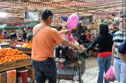 Family shopping in the Agro - Photos of Arica - Chile - Others in SOUTH AMERICA. Image #50001