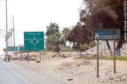 Libertador Bernardo O'Higgins Avenue, Route 5. - Photos of Arica - Chile - Others in SOUTH AMERICA. Image #50553