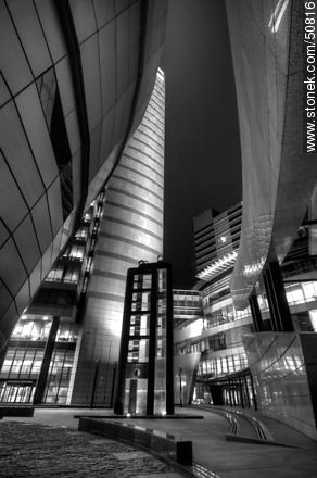 Torre de las Telecomunicaciones - Photos in Black and White. - MORE IMAGES. Image #50816