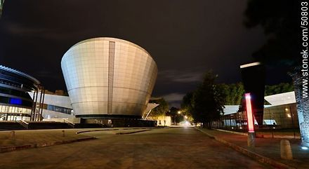 Torre de las Telecomunicaciones - Photos of the ANTEL complex - Department and city of Montevideo - URUGUAY. Image #50803