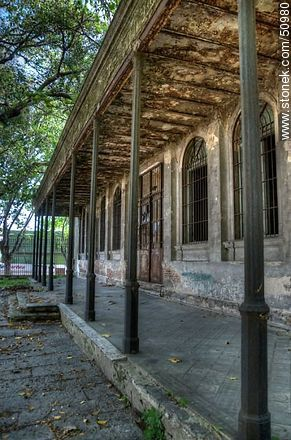 Vilardebo Hospital in ruinous state - Photos during the Heritage Day 2009 and 2011 - Department and city of Montevideo - URUGUAY. Image #50980