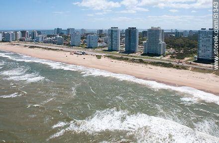 Brava beach. Parada 8. - Photos of the open sea - Punta del Este and its near resorts - URUGUAY. Image #51343