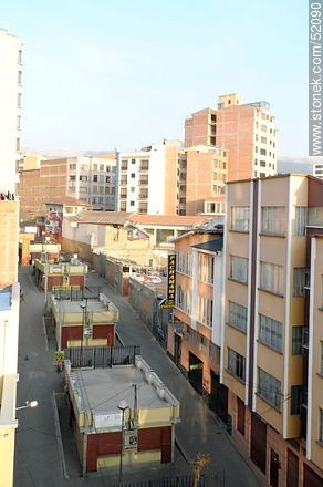 Pasaje Diagonal Juan XXIII. Residencial Pachamama. - Photos of the City  of La Paz - Bolivia - Others in SOUTH AMERICA. Image #52090