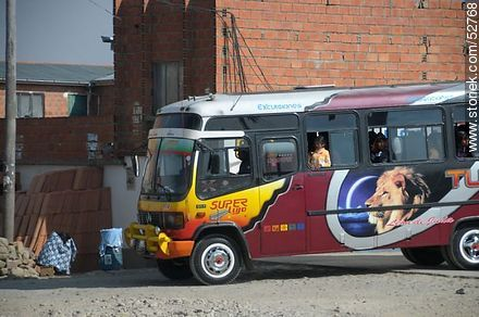 Bus - Photos of El Alto - Department of La Paz, Others in SOUTH AMERICA. Image #52768