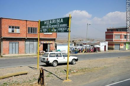 Town of Huarina - Photos on Lake Titicaca in Bolivia - Bolivia - Others in SOUTH AMERICA. Image #52712