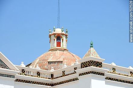 Basilica of Our Lady of Copacabana - Photos of the City of Copacabana - Bolivia - Others in SOUTH AMERICA. Image #52528