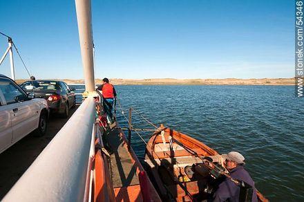 Raft to cross the lagoon Garzon to Route 10 (2012) - Photos of Jose Ignacio - Punta del Este and its near resorts - URUGUAY. Image #54346