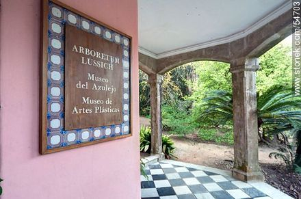 Tile and Arts museums  in the Arboretum Lussich - Photos of Solanas and Casapueblo at Punta Ballena, URUGUAY. Image #54703