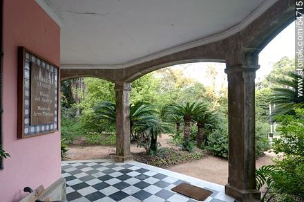 Tile and Arts museums  in the Arboretum Lussich - Photos of Solanas and Casapueblo at Punta Ballena, URUGUAY. Image #54715