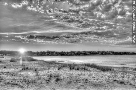 Sunrise in Punta Colorada - Photos of Piriapolis - Department of Maldonado - URUGUAY. Image #55134