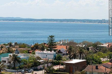 From the lighthouse of Punta del Este.  - Photos of the open sea, URUGUAY. Image #58653