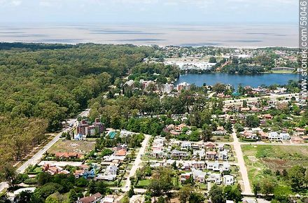 Aerial view of Parque Miramar - Variety photos of State of Canelones - Department of Canelones - URUGUAY. Image #59046