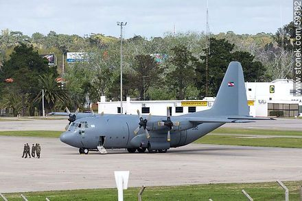 Uruguayan Air Force Hercules aircraft - Photos of the International Airport of Carrasco - Km 20, Route 101, URUGUAY. Image #59362