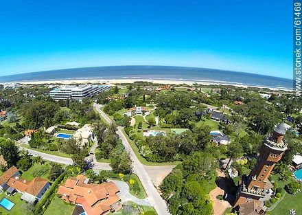 Aerial view or Rincón del Indio - Photos of L'Auberge hotel in Rincon del Indio - Punta del Este and its near resorts - URUGUAY. Image #61469