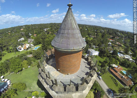 Dome of the tower and viewpoint - Photos of L'Auberge hotel in Rincon del Indio - Punta del Este and its near resorts - URUGUAY. Image #61662
