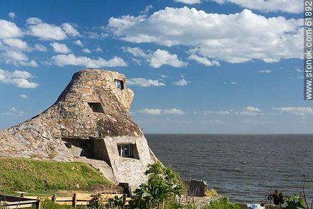 The stone eagle - Photos of Atlantida - Department of Canelones - URUGUAY. Image #61892