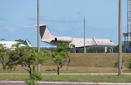 Private jets at the airport in Punta del Este C / C Carlos Curbelo - Photos of Laguna del Sauce, URUGUAY. Image #62030