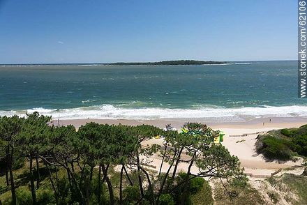 Mansa Beach at Stop 10 - Photographs of beaches of Punta del Este - Punta del Este and its near resorts - URUGUAY. Image #62106