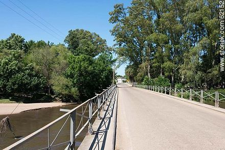 Bridge over the Santa Lucia River. Route 6. - Fotos of the city of San Ramón - On the Route 6, URUGUAY. Image #62152