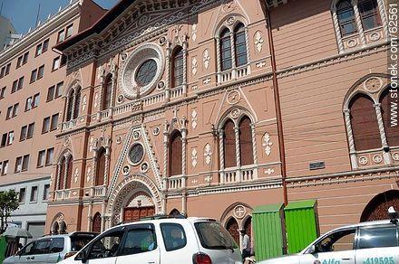 Comunidad Educativa Sagrados Corazones at Av. 16 de Julio - Photos of the City  of La Paz - Bolivia - Others in SOUTH AMERICA. Image #62561