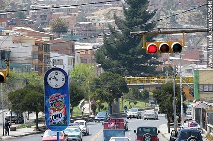 Avenida Hernando Siles and Street 17 - Photos of the City  of La Paz - Bolivia - Others in SOUTH AMERICA. Image #62646