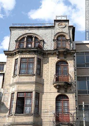 Av. Pérez Velasco architecture - Photos of the City  of La Paz - Bolivia - Others in SOUTH AMERICA. Image #62749