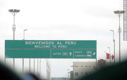 Welcome to Peru. south border - Photos of the City of Tacna - Perú - Others in SOUTH AMERICA. Image #63165