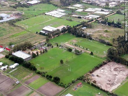 Campos deportivos tomados desde el aire - Variety photos of State of Canelones - Department of Canelones - URUGUAY. Image #63253