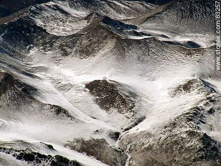 The Andes Mountains with snowy peaks - Photos of Andes mountains - Chile - Others in SOUTH AMERICA. Image #63257