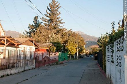 El Esfuerzo Street - Photos of the City of Quillota - Chile - Others in SOUTH AMERICA. Image #63979