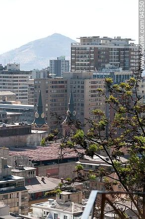 Buildings from the Cerro Santa Lucia - Photos of Santiago de Chile - Chile - Others in SOUTH AMERICA. Image #64350