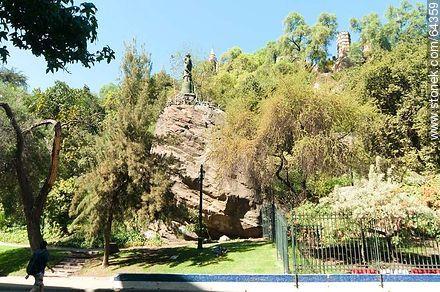 Cerro Santa Lucía - Photos of Santiago de Chile - Chile - Others in SOUTH AMERICA. Image #64359