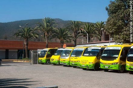 Metrobus buses - Photos of Limache - Chile - Others in SOUTH AMERICA. Image #64456