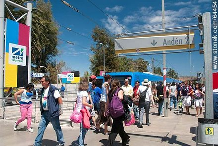 San Francisco de Limache Metro Station - Photos of Limache - Chile - Others in SOUTH AMERICA. Image #64454